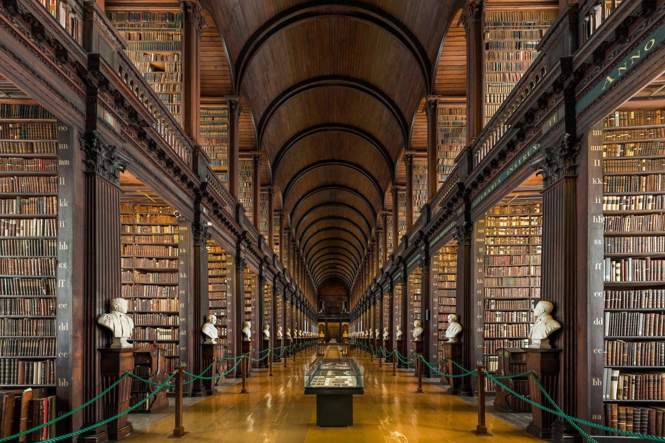 Trinity College Bibliotheek, Dublin